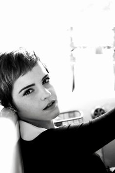 Emma Watson, photographed by Harry Crowder