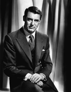 Our Hero is an old fashioned gentleman with timeless cool like Cary Grant. So handsome! Old Hollywood, Hollywood Actor, Golden Age Of Hollywood, Hollywood Glamour, Hollywood Stars, Classic Hollywood, Cary Grant, George Hurrell, Classic Movie Stars