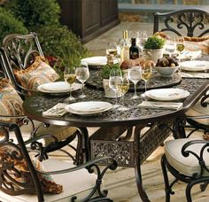 Pull up to the table with furnishings inspired by New Orleans' glorious French architecture.