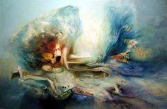 James Gleeson Henry Thomas, Australian Painters, Faeries, Surrealism, My Arts, Artsy, Distortion, Landscape, Abstract