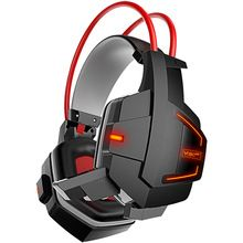 New Ghosts Stereo Glow Gaming Headphone Headset Auriculares Casque audio for PC Gamer PS4 with Mic Volume Control LED Light