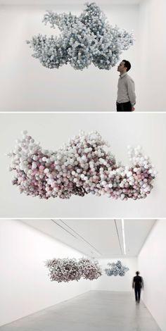 Daniel Arsham: Pixel Clouds