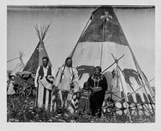 Indian Pictures: Blackfoot Indian Camps on the Montana Reservation