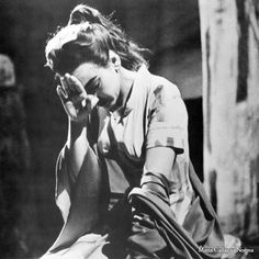 Unseen pictures of Maria Callas' - NORMA Act II