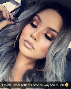 love the hair and the make up! Makeup Goals, Makeup Tips, Beauty Makeup, Hair Beauty, Makeup Ideas, Makeup Trends, Flawless Makeup, Gorgeous Makeup, Love Makeup