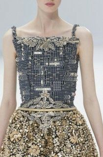 #Chanel  #hautecouture  #couture  #beading  #parisfashionweek  #embellished