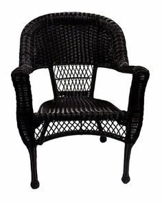 Pack of 2 Black Resin Wicker Patio Dining Arm Chairs by LB International. $224.99. Patio Dining Arm ChairsItem #BOI-95914C-BKProduct Features:Highest quality, heaviest gauge extruded tube with reinforced internal walls for extra supportSolid cast frame components are individually formed through the ancient art of sand castingHand-welded using full circumference 360 degree heli-arc welding technologyPre-inspected for strength and appearanceHand sanded and polished prio...