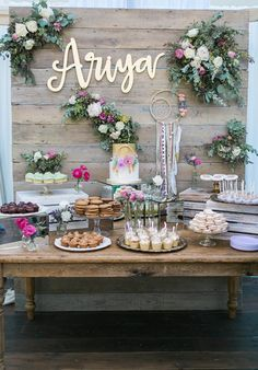 Beautifully Vintage Inspired Baby Shower...