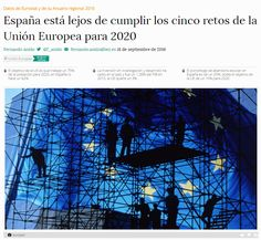 España está lejos de cumplir los cinco retos de la Unión Europea para 2020 / @bezdiario | #readyforeurope #readytoinnovate