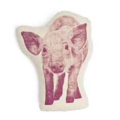 Organic Cotton Piglet Pillow