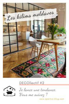 #tapis #decoration #kilimmoldave #tendancedeco #inspirationdeco #DECOllectif