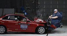 Mercedes new crash test for USA