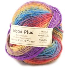 Mochi Plus Knitting Yarn by Crystal Palace at YarnCountry.com--- Cristol!  They have your color in stock