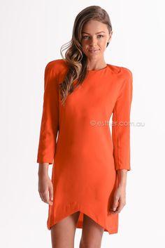 pre-order - jewel cocktail dress - red