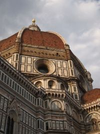 Up Close at the Duomo in Florence - Italy
