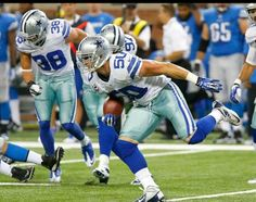 Sean Lee is back! Monday night Football!  Go Cowboys♥♥♥