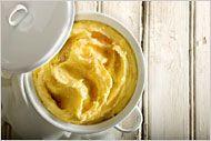 How to Make Creamy Mashed Potatoes: Melissa Clark demonstrates how to make rich mashed potatoes without lumps.