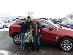 Congratulations to the Boettner's on their purchase of a new Cadillac SRX! We really appreciate the opportunity to earn your business, and hope you enjoy your new vehicle!