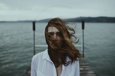 """Windy"" by Alessio Albi #photography #portrait #female #woman"