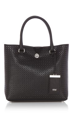 Small perforated tote bag - from Karen Millen.
