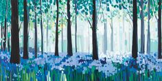 Bluebell Morning by Janet Bell