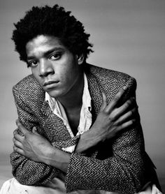 Basquiat was for me energy, poetics, honesty. Painting unparalleled imagination. One love in the soul. Basquiat the gentle genius. so strong and so poetics. it's all beautiful emotions.  Basquiat 1960-1988 and his art focused on suggestive dichotomies such as wealth v poverty, segregation v integration and inner v outer experience. He through his art attacked power structures and racism and was very political in his criticism of colonialism and class struggle He is the best painter to mi...