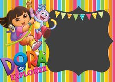Dora invitations template free dora the explorer birthday party dora the explorer birthday invitationg 21001500 pixels filmwisefo