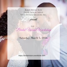Our Bridal Vision Workshop heads to Washington, DC! Meet us at The Loft 600 F on March 5th for an unforgettable day of wedding AND marriage planning with the areas top vendors. An awesome value!