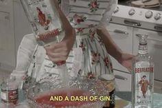 göra drinkar.