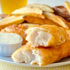 Super Crispy Fish and Chips - after many years of trying, I've perfected this recipe which uses 1 particular ingredient in the batter for guaranteed crunch.