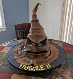 [Homemade] Harry Potter Sorting Hat Cake!