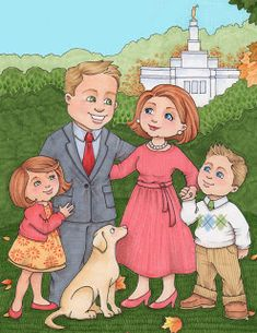 susan fitch design: Families are Forever, downloadable illustration, free