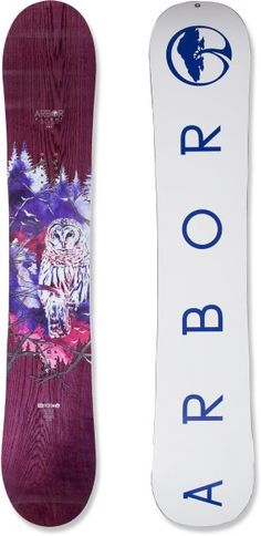 Arbor Flight Snowboard - Women's - 2013/2014 at REI.com one of the boards I need!