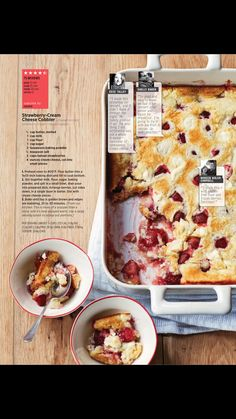 """""""Strawberry fields"""" from Allrecipes, April/May 2017. Read it on the Texture app-unlimited access to 200+ top magazines."""