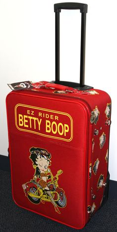 Betty Boop Luggage