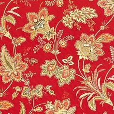 red upholstery fabric - Google Search