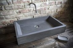 Výrobky z betonu na míru   CRÉER Sink, Home Decor, Bathing, Bathroom, Sink Tops, Vessel Sink, Decoration Home, Room Decor, Vanity Basin