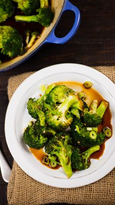 Up your broccoli game by sautéing it with this simple and healthy honey garlic…