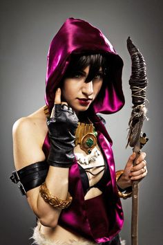 Morrigan Is a Wild Witch [Cosplay]