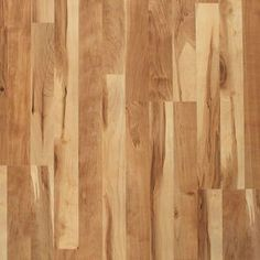 """Laminate floor for laundry/ craft room at Lowes  """"natural maple"""""""