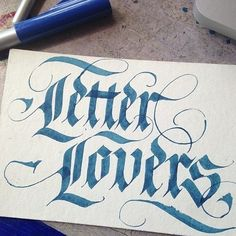 """Quick """"logo"""" for class I'm teaching at Noisebridge. Gothic Lettering, Tattoo Lettering Fonts, Hand Lettering Styles, Calligraphy Tutorial, Calligraphy Words, Caligraphy, Penmanship, Beautiful Lettering, Beautiful Calligraphy"""