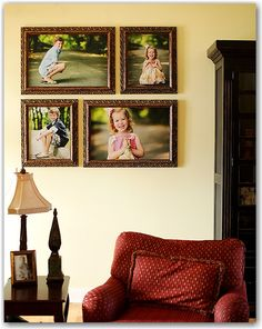 2 - 16x20 framed prints & 2 - 20x24 framed prints