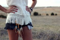 Cute fringe top and such~