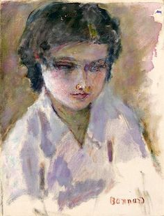 Pierre Bonnard 1867-1947, Portrait De Jeune Femme (Gisele Belleud)