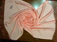 Reines 88%Seide Schal hijab Tuch Hijab Esarp Foulard amıra aprikot OVP