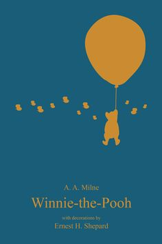 Winnie The Pooh Minimalist Book Covers on Behance