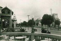 1916 - Avenida Paulista, esplanada do Belvedere Trianon (atualmente onde localiza-se o MASP - Museu de Arte de São Paulo).