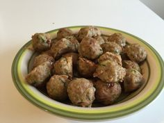 polpette dukan carne e zucchine
