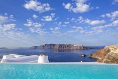 Where to stay in Santorini? 10 most amazing hotels for your next holiday!-Not sure, where to stay in Santorini? Check these 10 stunning hotels and find the best place to stay in Santorini for your romantic getaway! Greece Tours, Greece Itinerary, Greece Travel, Hotels In Oia Santorini, Santorini Grecia, Dana Villas, Unusual Hotels, Beste Hotels, Leading Hotels