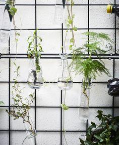 BARSÖ klimplantrek | IKEA IKEAnl IKEAnederland accessoires decoratie inspiratie zwart handig praktisch planten buiten outdoor tuin balkon